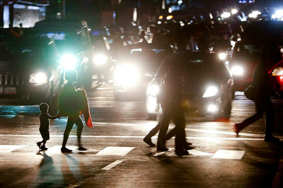 Ein Stromausfall führte in großen Teilen Venezuelas zu Zugausfällen und chaotischen Verkehrsbedingungen.