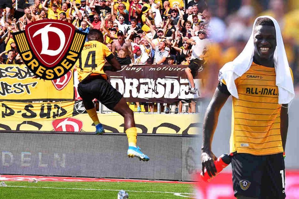 Dynamo-Stürmer Koné vor Wechsel zu Baseksehir Istanbul, kommt jetzt Wriedt von den Bayern?