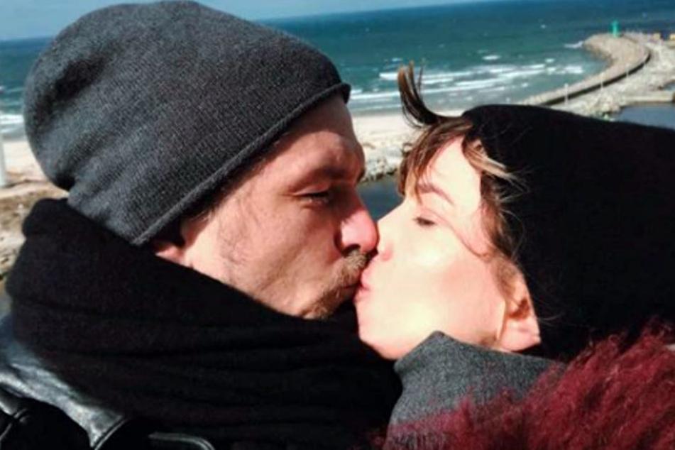 Isabell Horn und ihr Freund Jens wurden Ende März 2017 zum ersten Mal Eltern.
