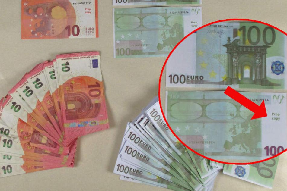 """Junge bestellt """"Movie Money"""" im Internet und verteilt das Falschgeld an Mitschüler"""