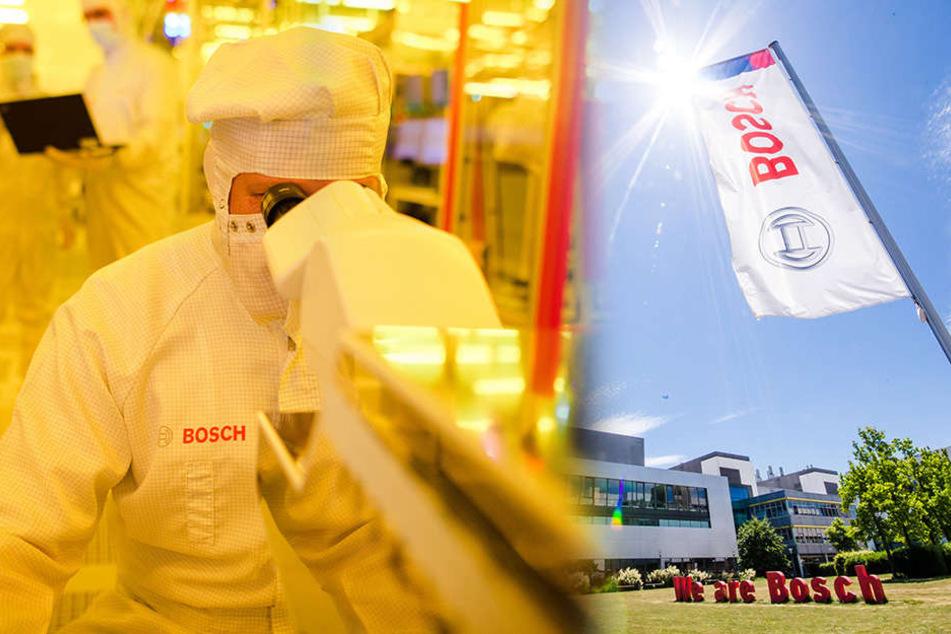 Bosch wird in Dresden Milliarden investieren, der Standort fehlt aber bislang. (Symbolbild)