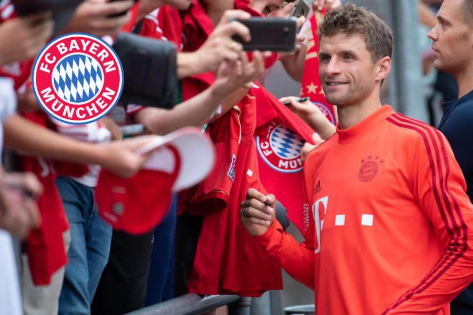 FC Bayern: Thomas Müller über Sané-Poker und seine taktische Position im Team