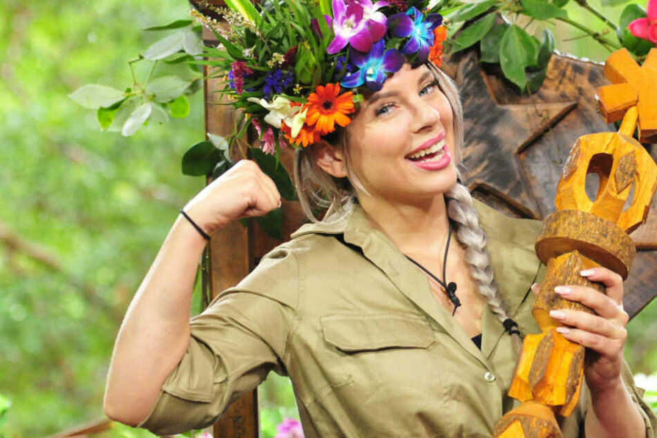 Jenny Frankhauser wurde 2018 Dschungelkönigin.