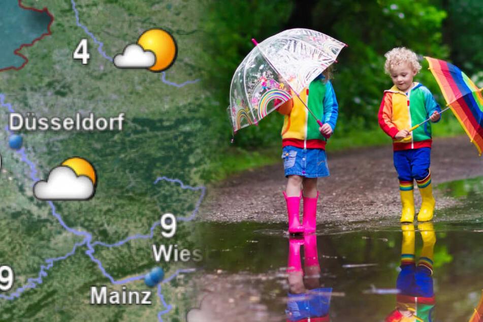 Wetter in NRW: Kommt die Sonne überhaupt mal durch?