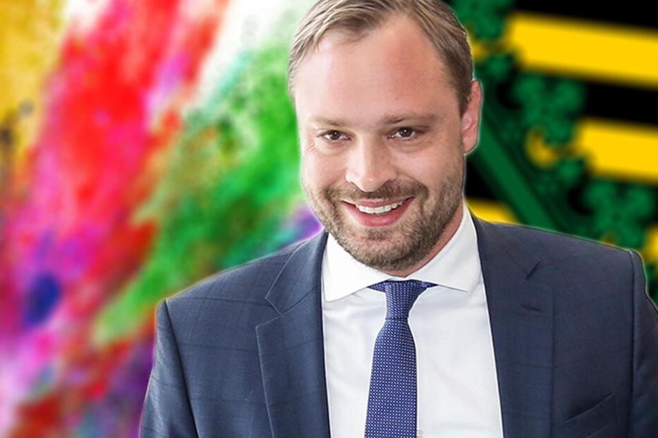 Verrückte Farbenwelt im Wahlkampf: So bunt treiben es unsere Parteien!