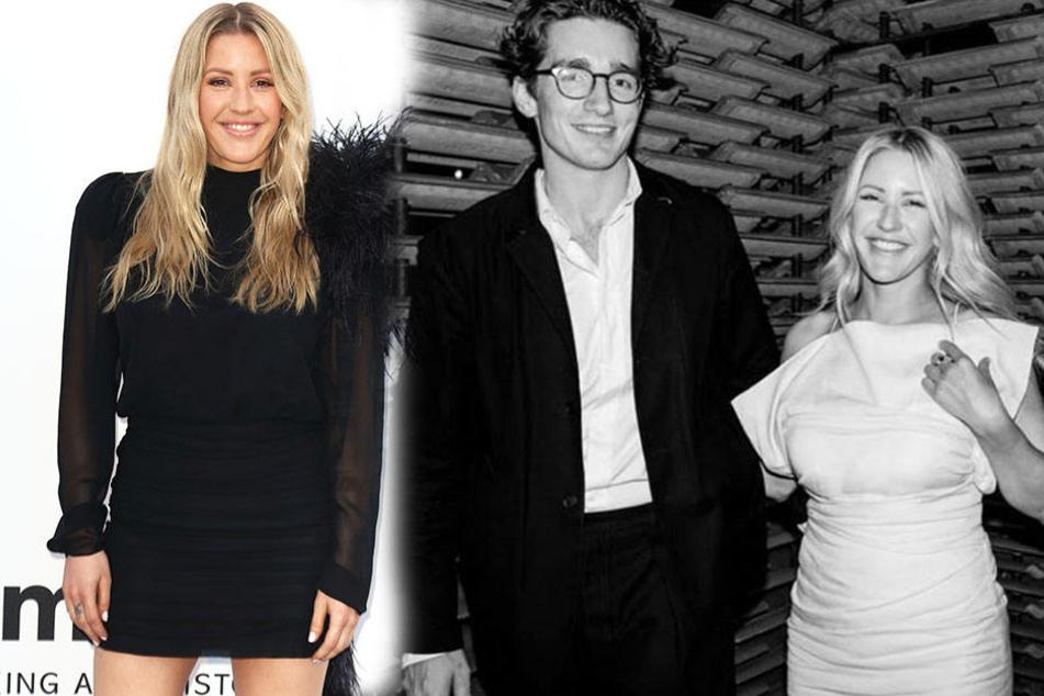 Die Sängerin strahlt! Ellie Goulding hat sich mit ihrem Caspar verlobt.