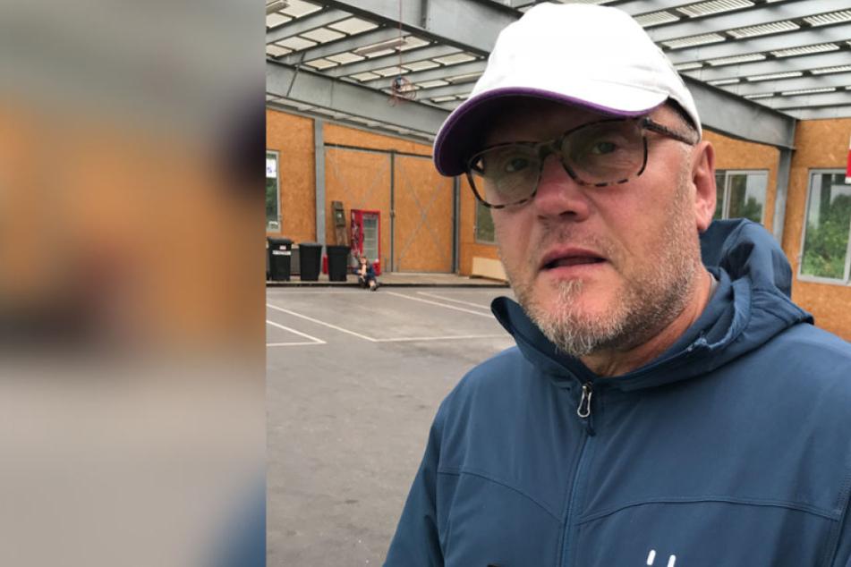 """Der Österreicher Anton Eisenbauer ist seit sieben Jahren eingefleischter Fan des FC Erzgebirge Aue, besucht regelmäßig die Spiele der """"Veilchen"""" - auch auswärts."""