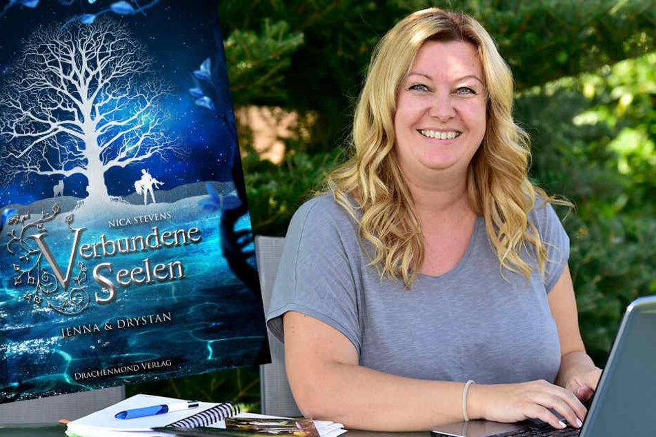 """Autorin Nica Stevens (39) hat den Nerv der Leser getroffen. Ihr Roman """"Verbundene Seelen"""" erscheint am 15. September als eBook bei Amazon und am 1. Oktober als Taschenbuch."""