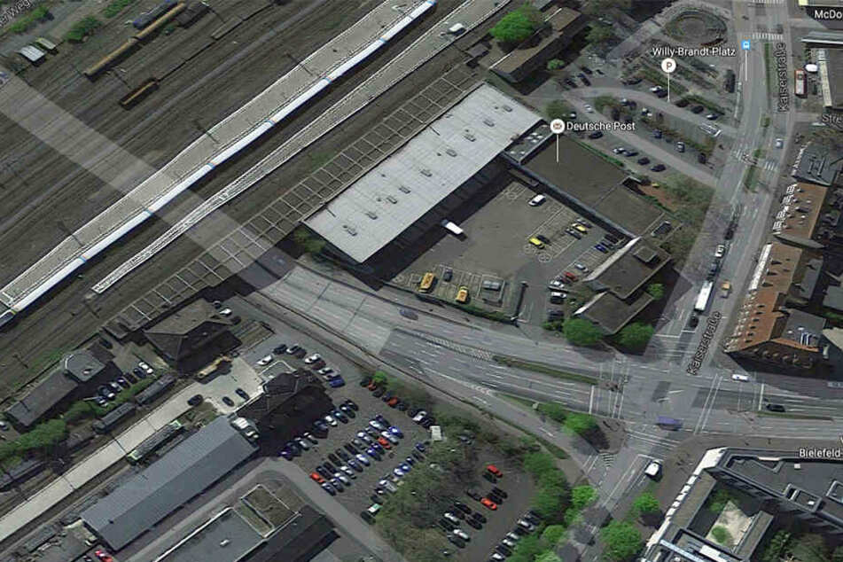 Die Post möchte ihr Gelände in der Kaiserstraße in Gütersloh nicht mehr halten.