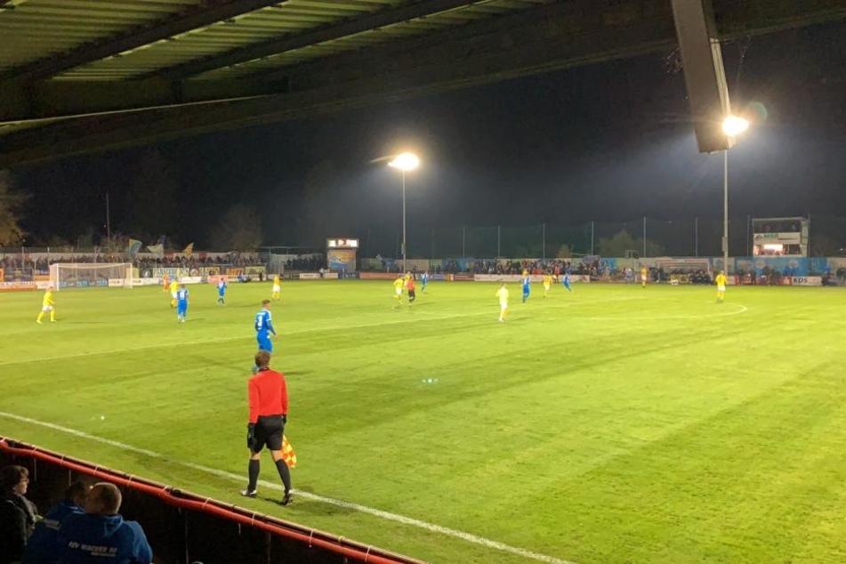 Das Spiel in Nordhausen zwischen Wacker und Lok Leipzig endete 1:1.