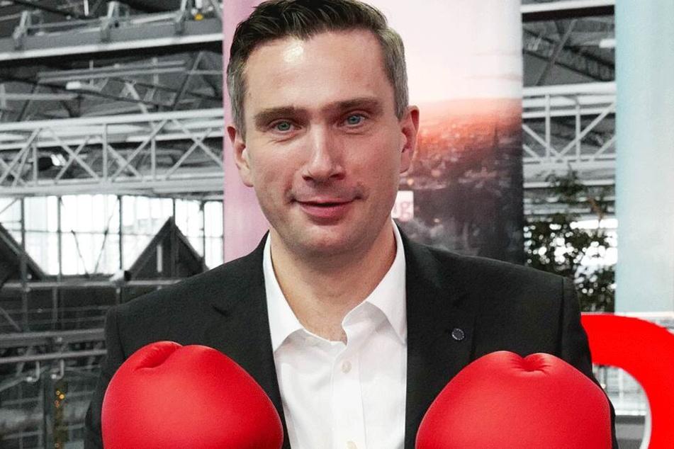 Überraschend stark in seinem Wahkreis: Vize-MP Martin Dulig (44, SPD).