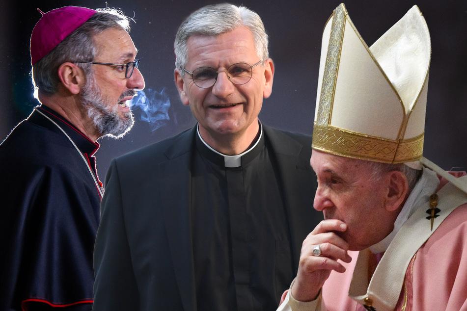 Papst soll über Rücktritte entscheiden: Weiterer Bischof beurlaubt