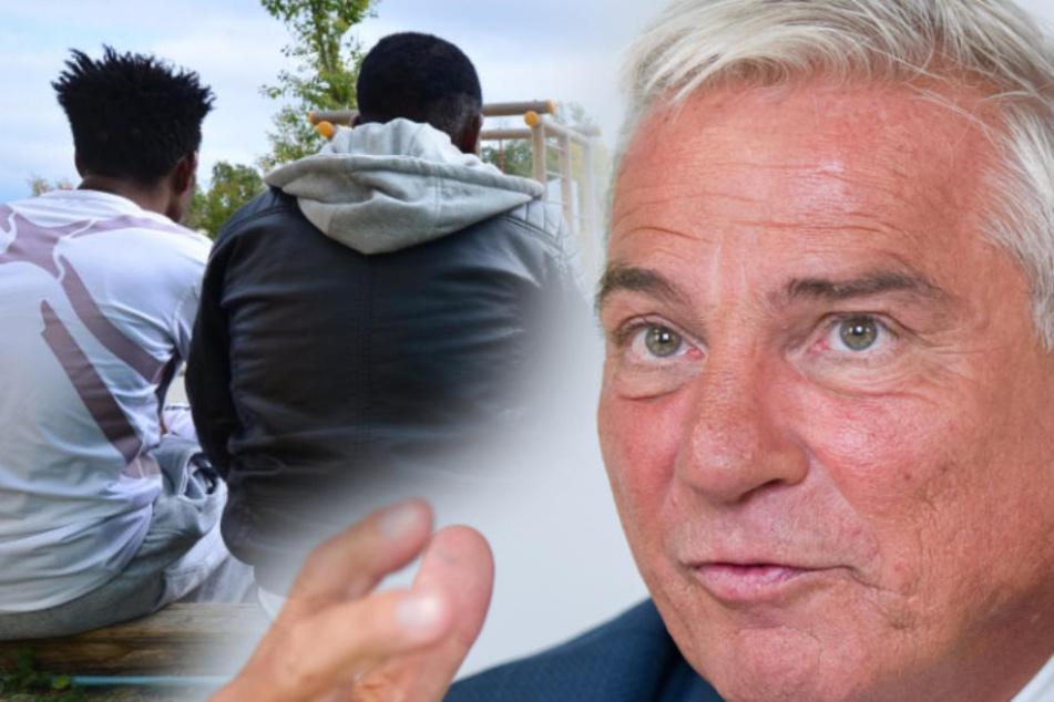 Thomas Strobl (CDU): Gibt kein Schema F bei Abschiebepraxis. (Fotomontage/Symbolbild)