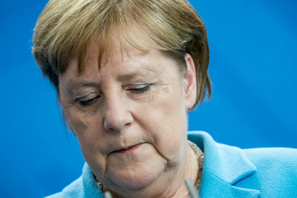 Angela Merkel hat sich über das erneute Zittern geäußert.