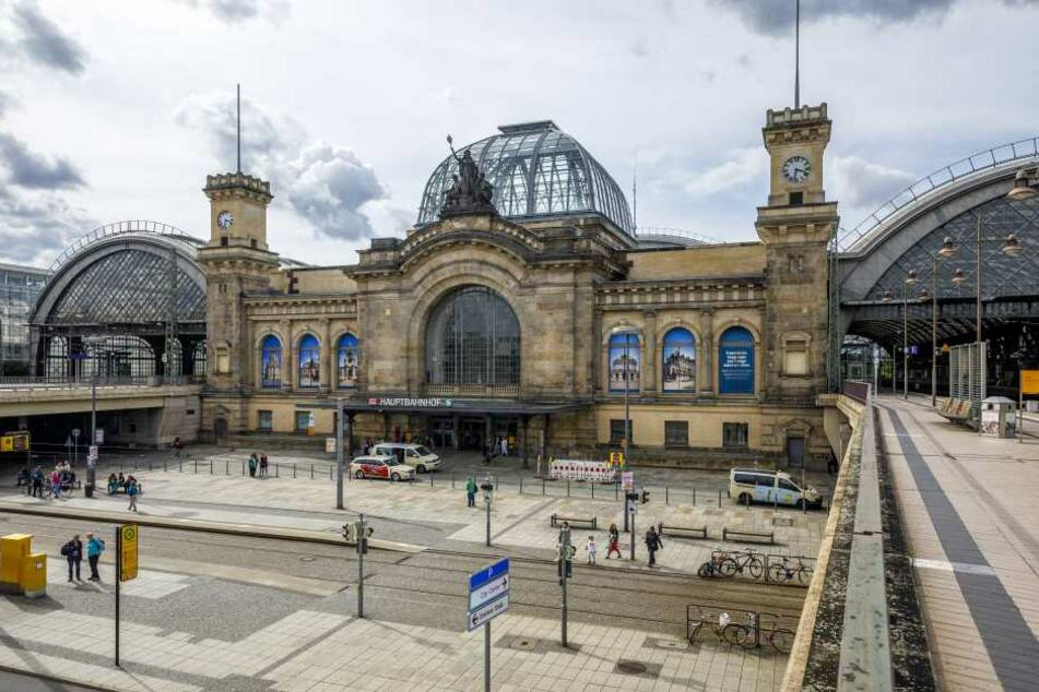 Der Diebstahl ereignete sich am Dresdner Hauptbahnhof.
