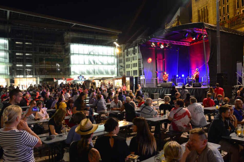 Chemnitz: Chemnitzer Bürgerfest mit Preis geehrt