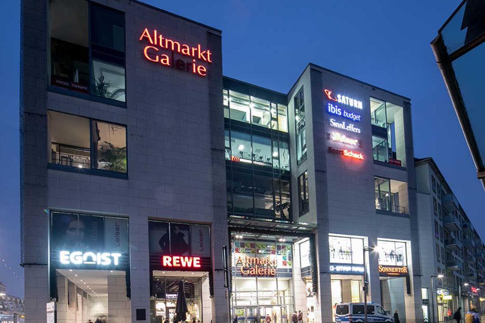 Bis Mitternacht darf am 29. September in der Altmarkt-Galerie eingekauft werden.