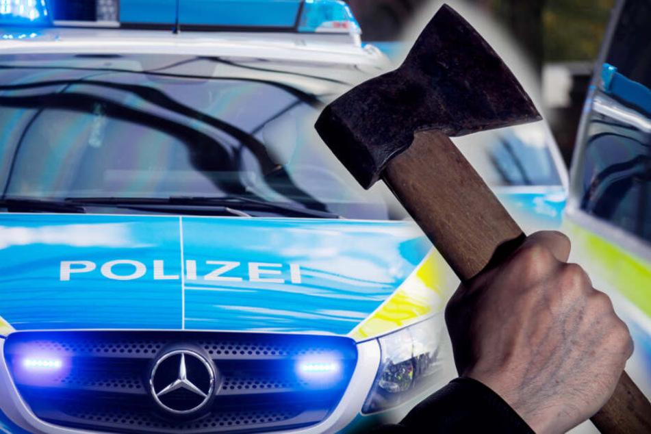 Brutaler Überfall: Mann öffnet Türe und bekommt Beil ins Gesicht!
