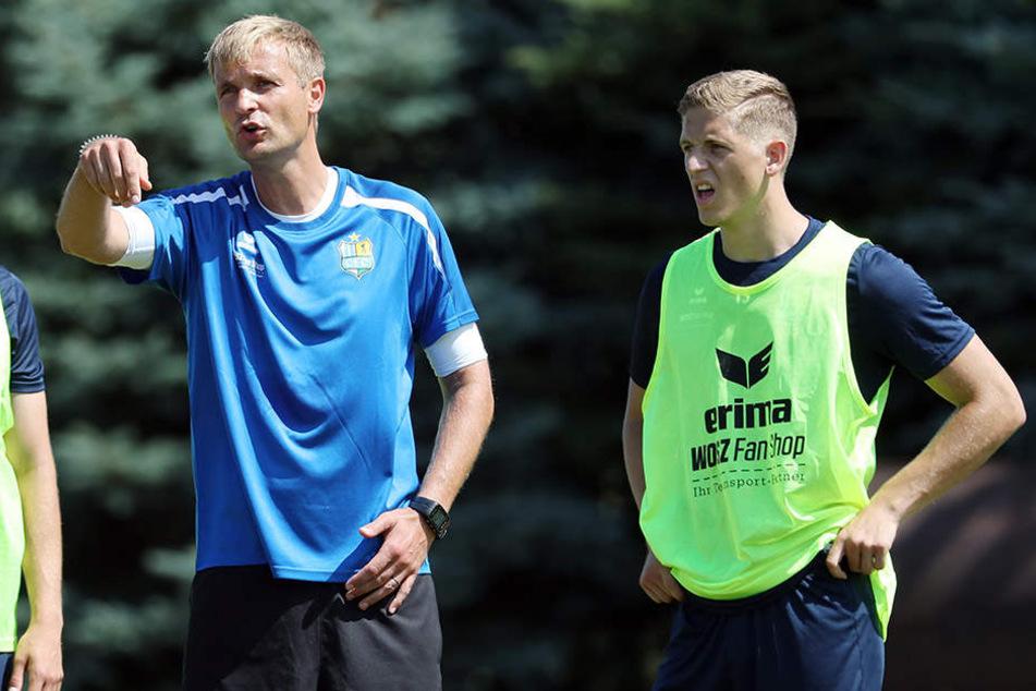 Taag weilte letzte Woche im CFC-Camp in Templin und kam dabei auch in den Testspielen gegen Neustrelitz (2:2) und Zehdenick (8:1) zum Einsatz.