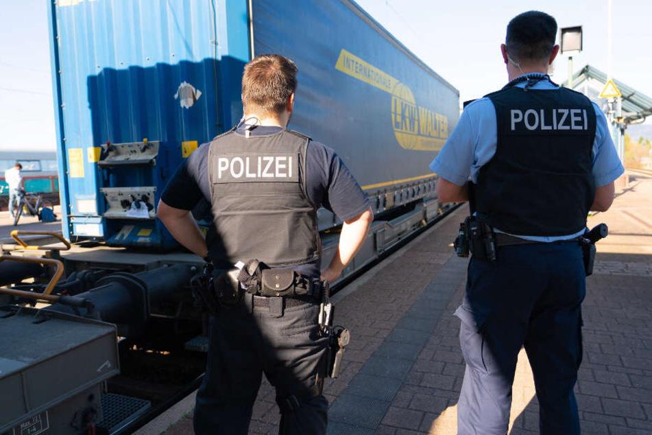 Der Güterzug war unterwegs nach Ludwigshafen, für die Afrikaner war die Fahrt aber schon in Müllheim zu Ende. (Symbolbild)