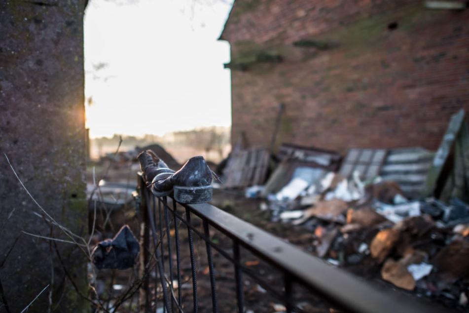 An diesem Tor fand man die Leiche des 30-Jährigen.