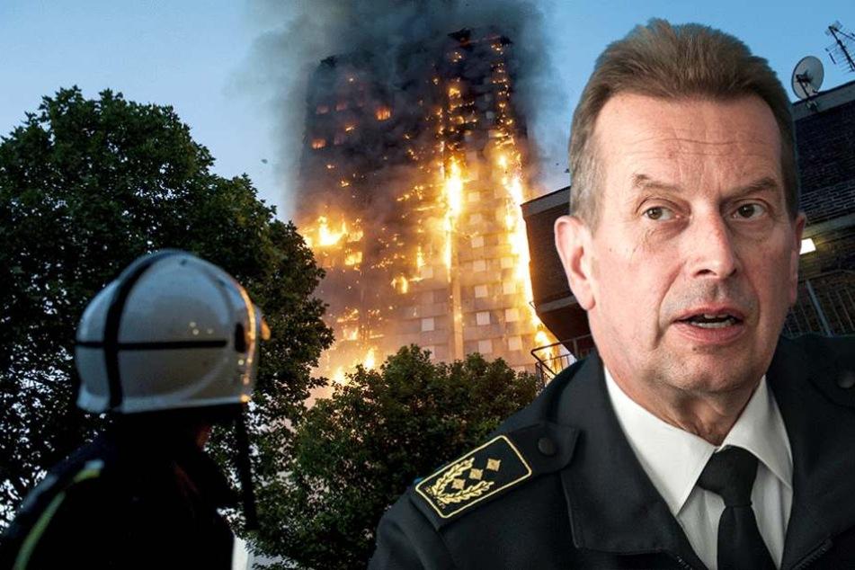 Hochhausbrand in London. Kann das auch bei uns passieren?