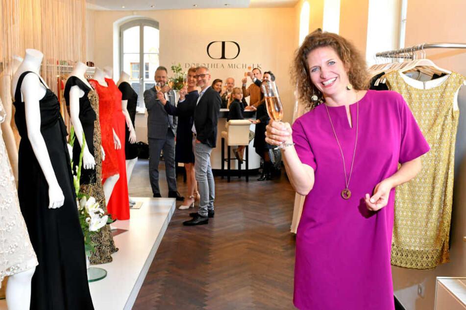 Dorothea Michalk feierte den 10. Geburtstag ihres Store & Atelier in Dresden.