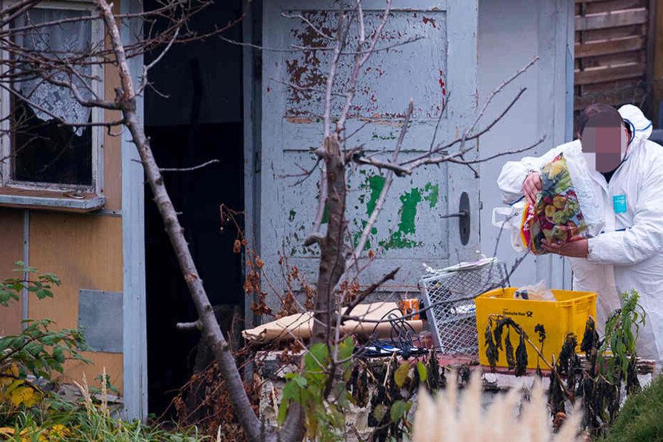 Der 48-Jährige wurde im Juli 2017 tot in einem Garten in Zörbig (Sachsen-Anhalt) entdeckt. (Symbolbild)