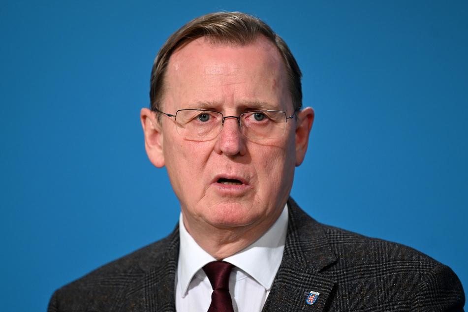 Bodo Ramelow (64, Die Linke), Ministerpräsident von Thüringen.