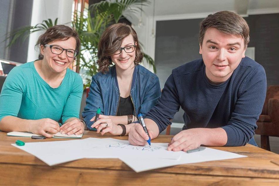 Diese drei kämpfen mit Comics für Gleichberechtigung
