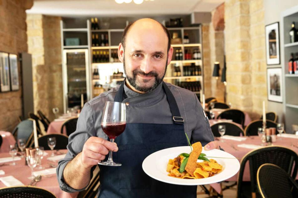 Trauer um den Dresdner Gastronom Mimmo Calo (†44), der für seine italienischen Spezialitäten bekannt war.