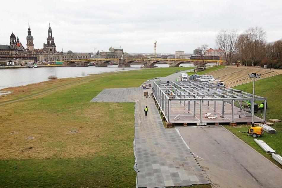 Zwischen Donnerstag und Sonntag bangten die Weltcup-Organisatoren wegen der akuten Hochwassergefahr.