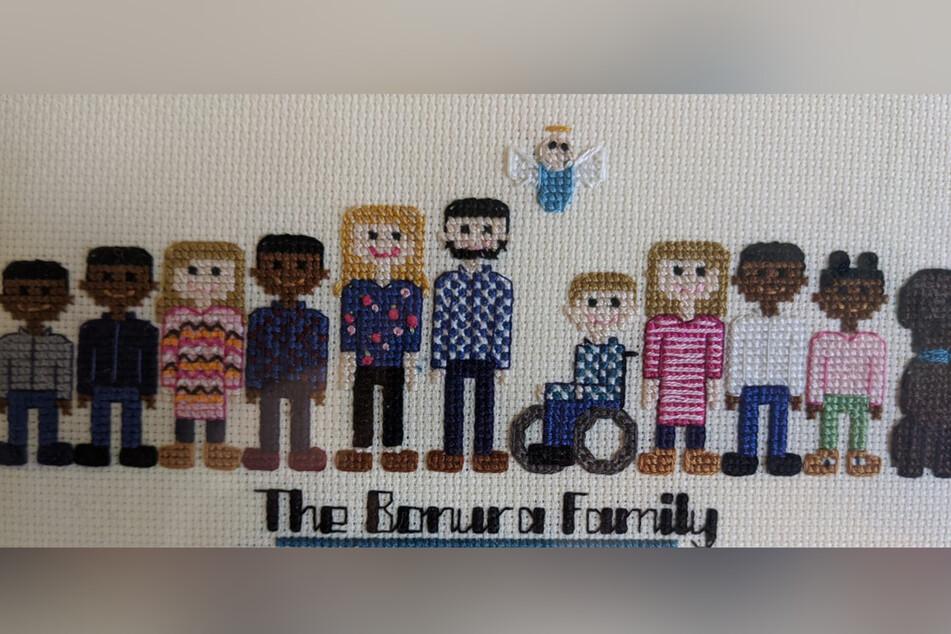 Familie adoptiert fünf Geschwister, jetzt sind sie zu zehnt