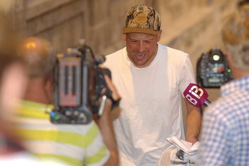 Nach einer Nacht konnte Jan Ullrich das spanische Gefängnis wieder verlassen.