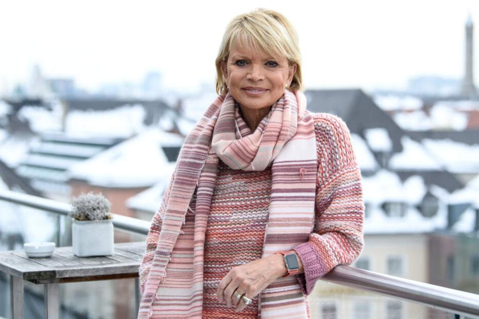 Uschi Glas in München: Am nächsten Samstag wird sie 75 Jahre alt.