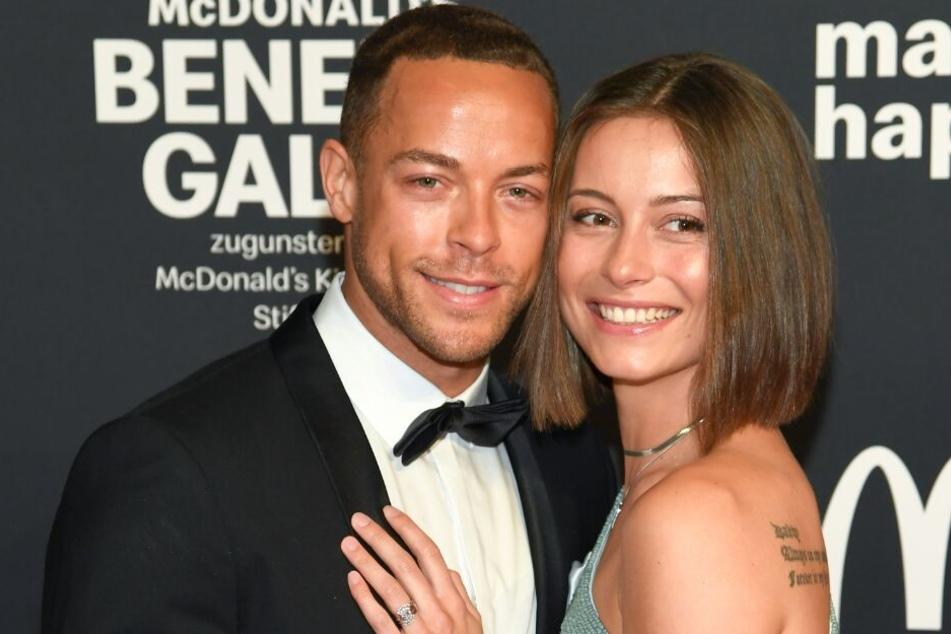 Andrej Mangold (33) und Jennifer Lange (26) reisten am Valentinstag nach Paris (Archivbild).