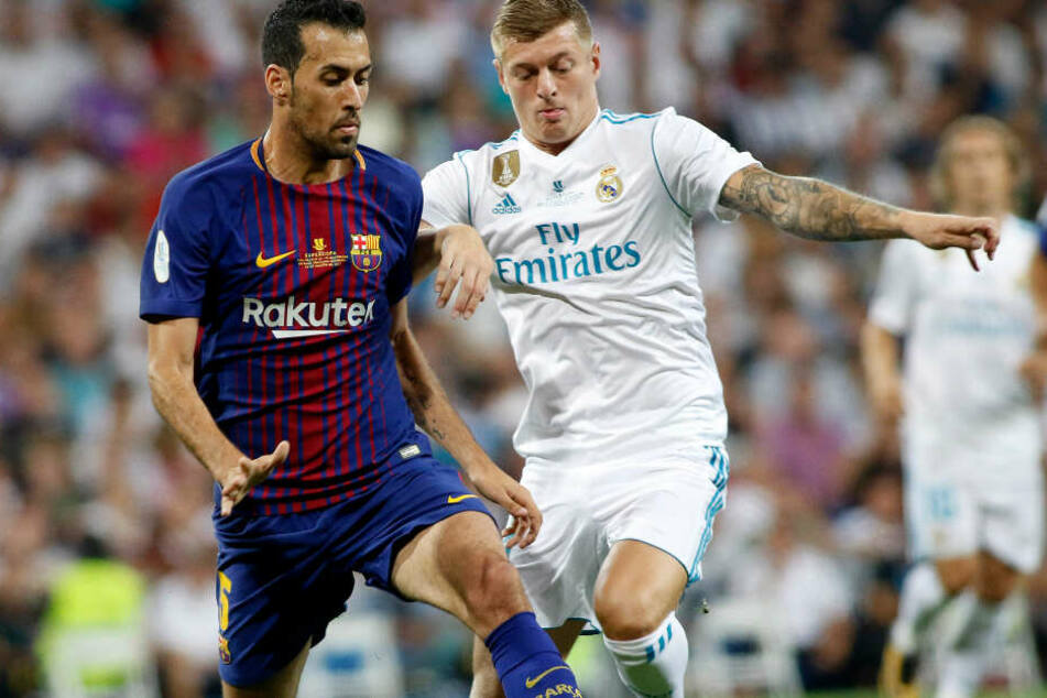 Toni Kroos muss auf sein nächstes Gastspiel im Camp Nou noch ein wenig warten.