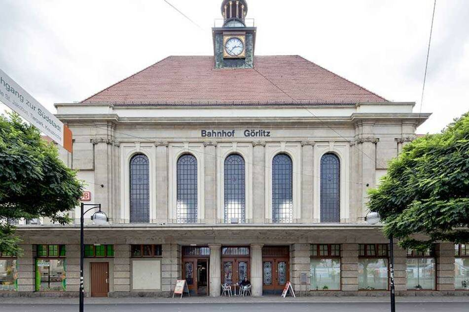 Der Bahnhof in Görlitz.