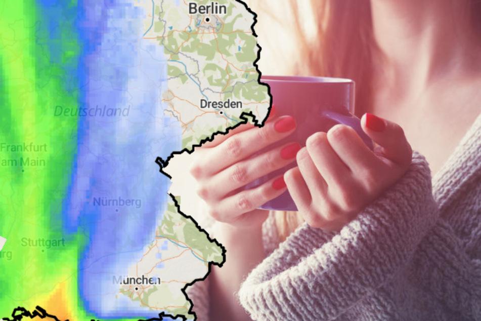 Trüb und regnerisch: So wird das Wetter in Deutschland in den kommenden Tagen