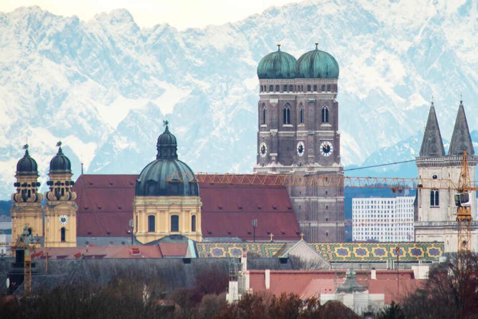 Das Wetter in München und nahezu ganz Bayern ist derzeit alles andere als winterlich.