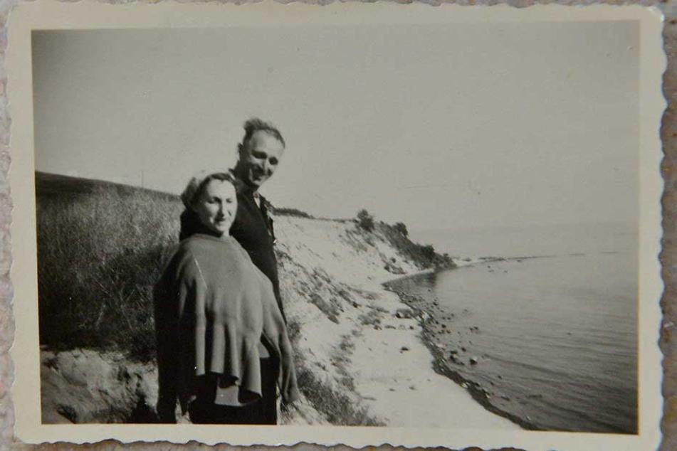 Erster Urlaub mit 43 Jahren: Lisbeth und Fritz an der Ostsee auf Rügen.
