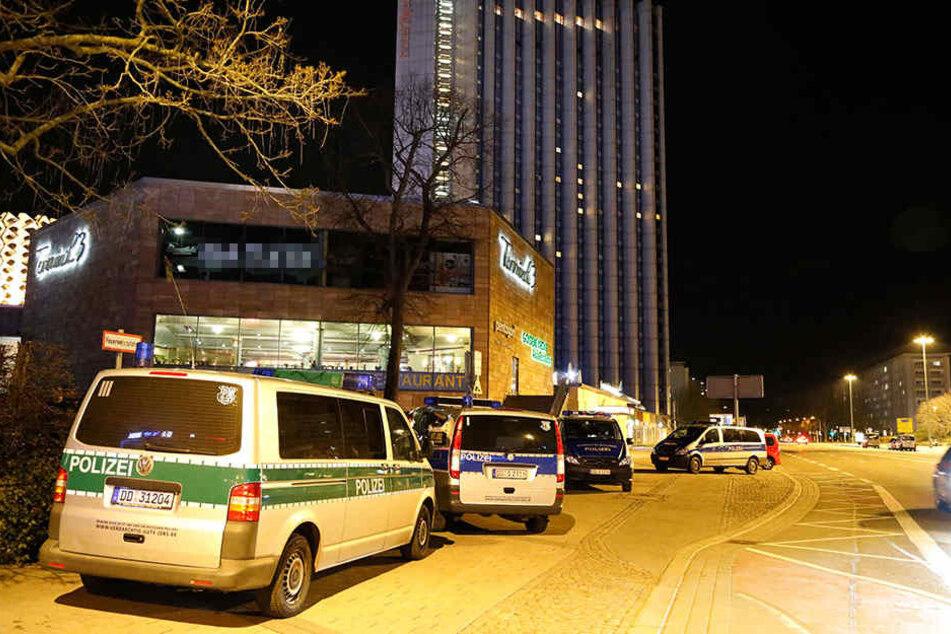 Immer wieder gab es in den vergangenen Monaten Polizeieinsätze in der Chemnitzer Innenstadt (Archivfoto).