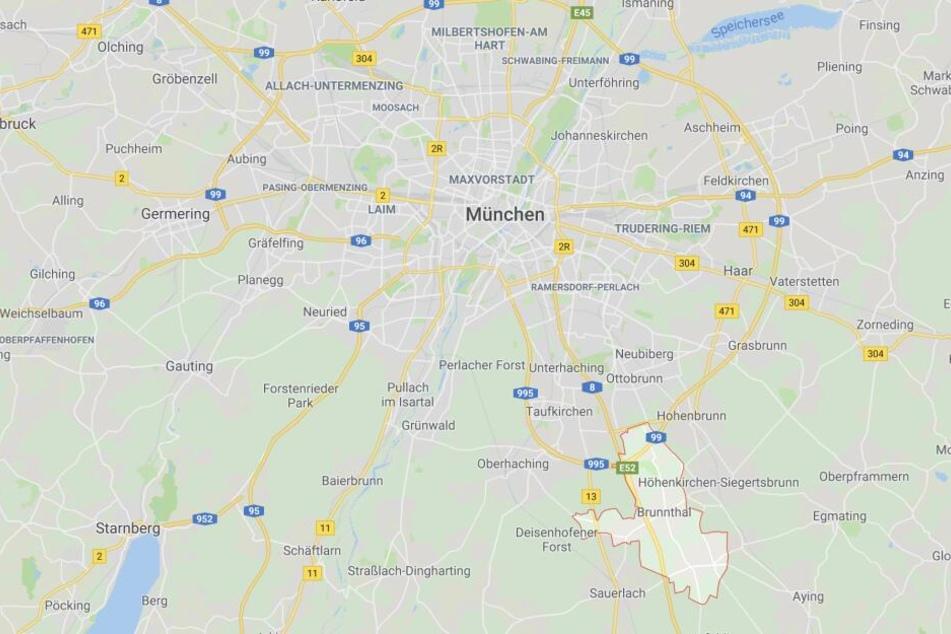 Auf der Autobahn 8 nahe München ist es zu einem schweren Verkehrsunfall gekommen.