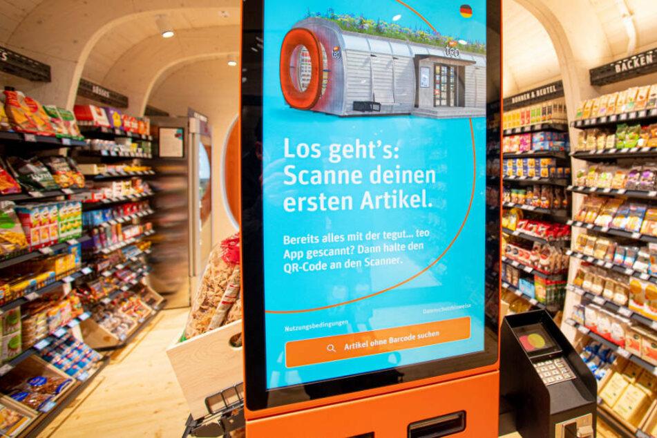 Einkaufen rund um die Uhr: Tegut eröffnet High-Tech-Supermarkt ohne Kassierer