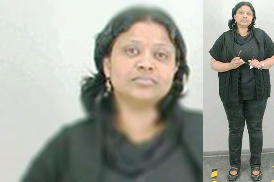 Poongodi Kannan (47) wird wegen Steuerhinterziehung und betrügerischen Handels gesucht.