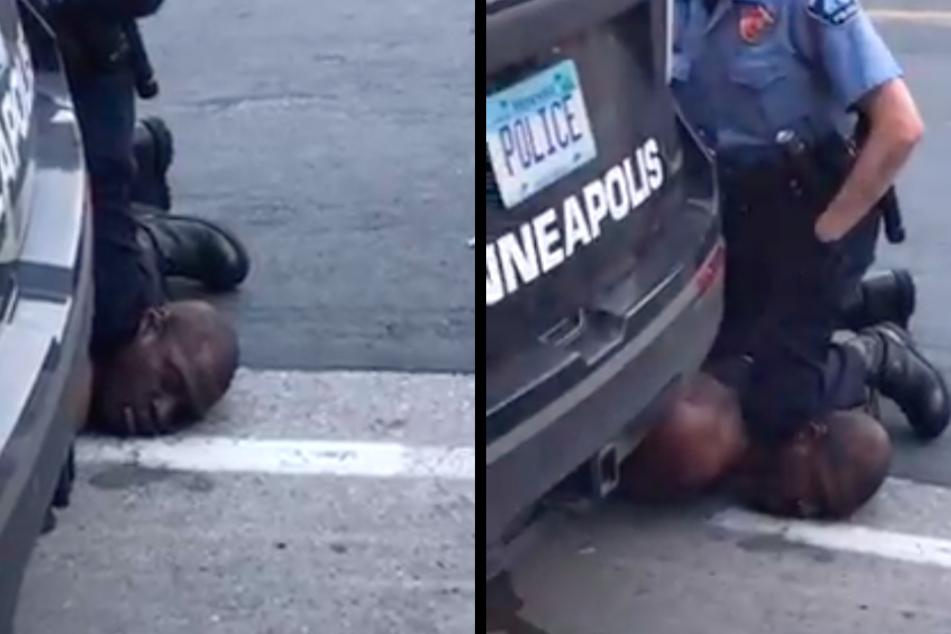 """Afroamerikaner stirbt durch Polizeigewalt, er flehte: """"Ich kann nicht atmen!"""""""