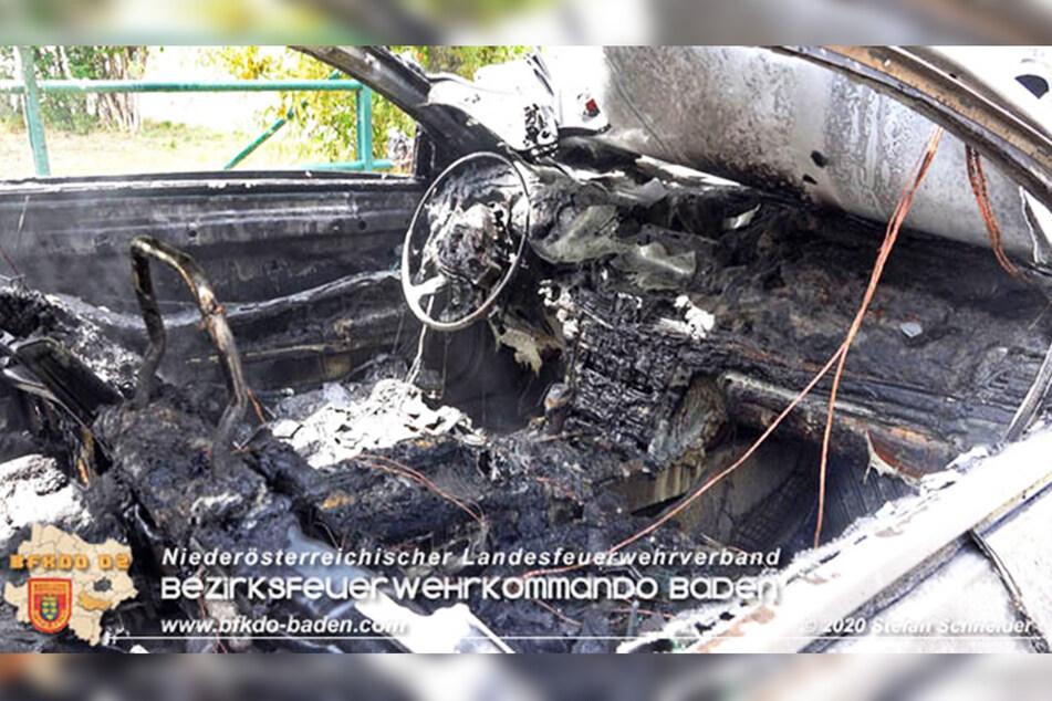 Viel war nach dem Brand von der teuren Ausstattung nicht mehr zu sehen.