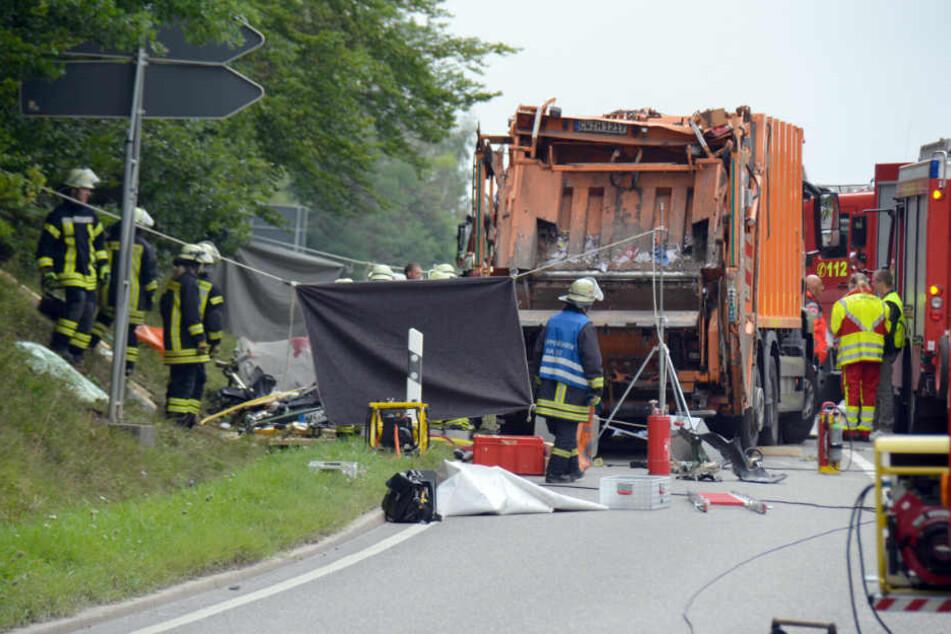 Müllwagenfahrer nach Unfall mit fünf Toten vor Gericht