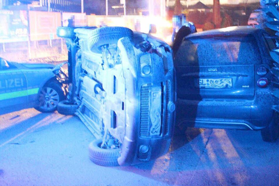 Der Gesamtschaden des Unfalls wird auf knapp 30.000 Euro geschätzt.
