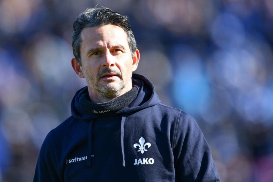 Dirk Schuster will Dynamo den Kampf ansagen.